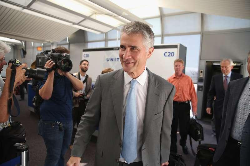 Former United Airlines CEO Jeff Smisek.