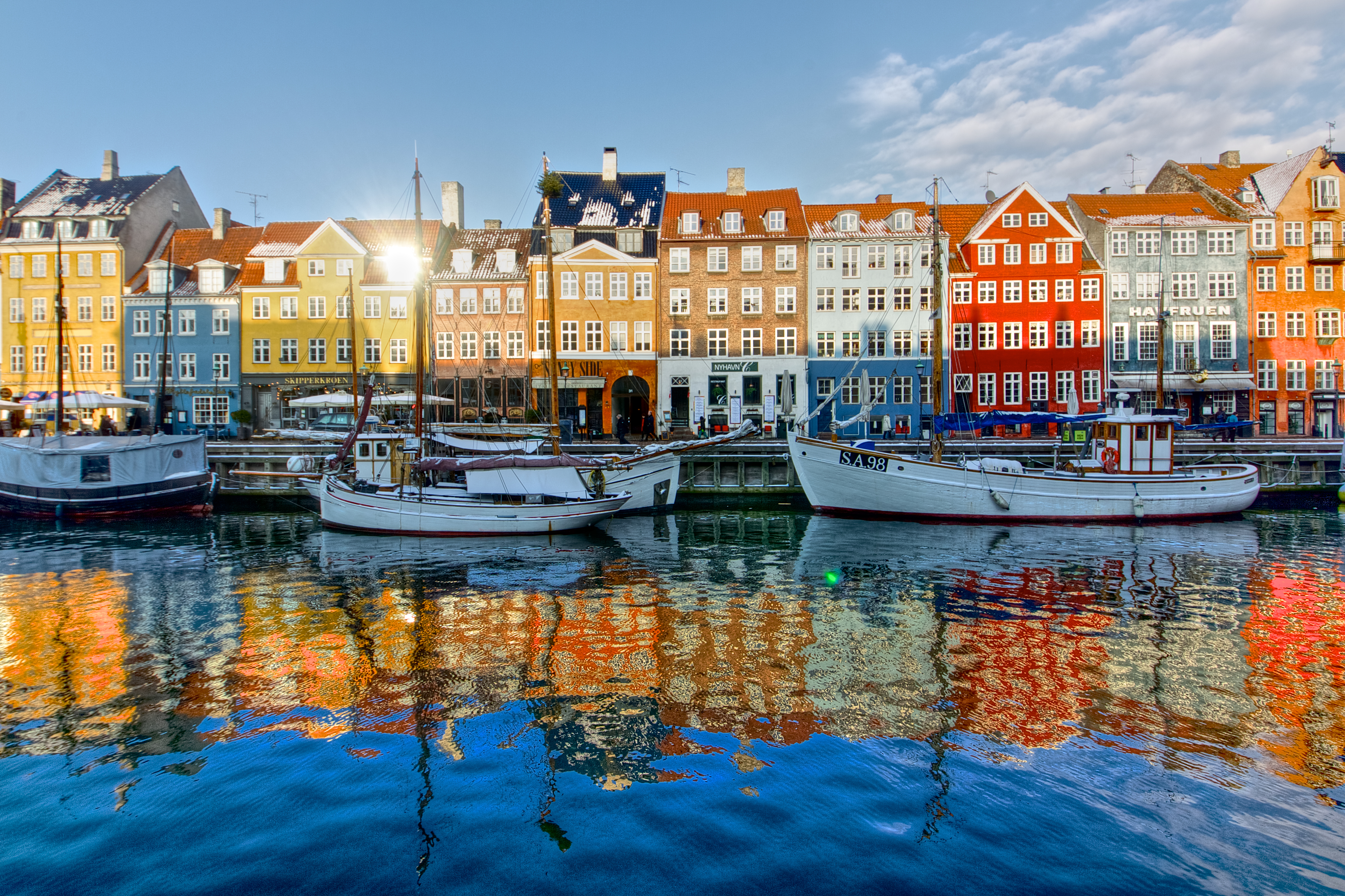 You can fly to Copenhagen, Denmark for just $703 this fall.