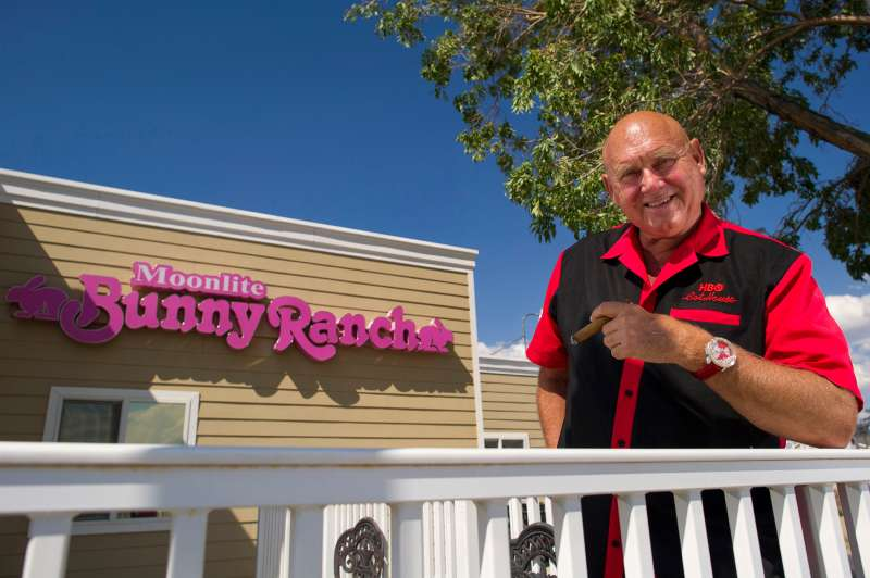 Dennis Hof, owner of the Moonlite Bunny Ranch, is matching workers' student loan payments.