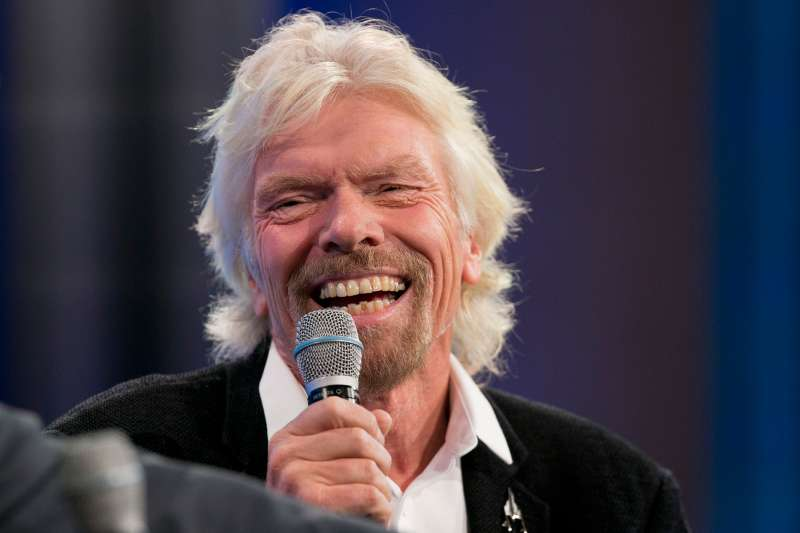 Richard Branson, Founder of Virgin Group and Virgin Unite, participates in a discussion on  Looking to the Next Frontier  at the Clinton Global Initiative on September 28, 2015, in New York.