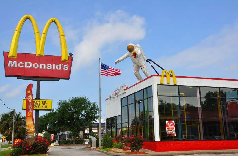 Nasa McDonald's, Houston, Texas