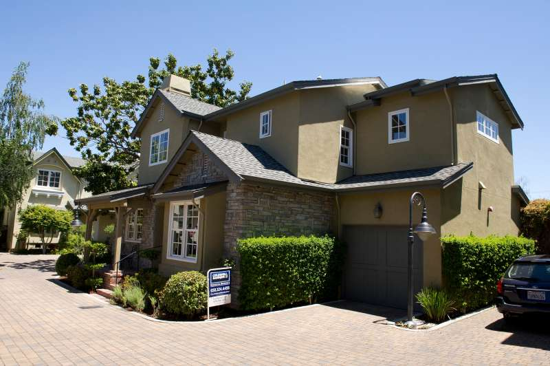 A three-bedroom, 2.5 bath, 1,550 square-foot house, listed for $1,350,000 on Menlo Park, California, U.S., on Tuesday, May 22, 2012.