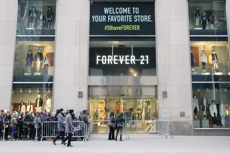 FOREVER 21 Celebrates Fifth Avenue Store Opening with Cody Simpson, New York city