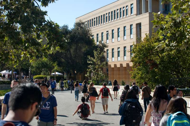Students at the University of California-Irvine
