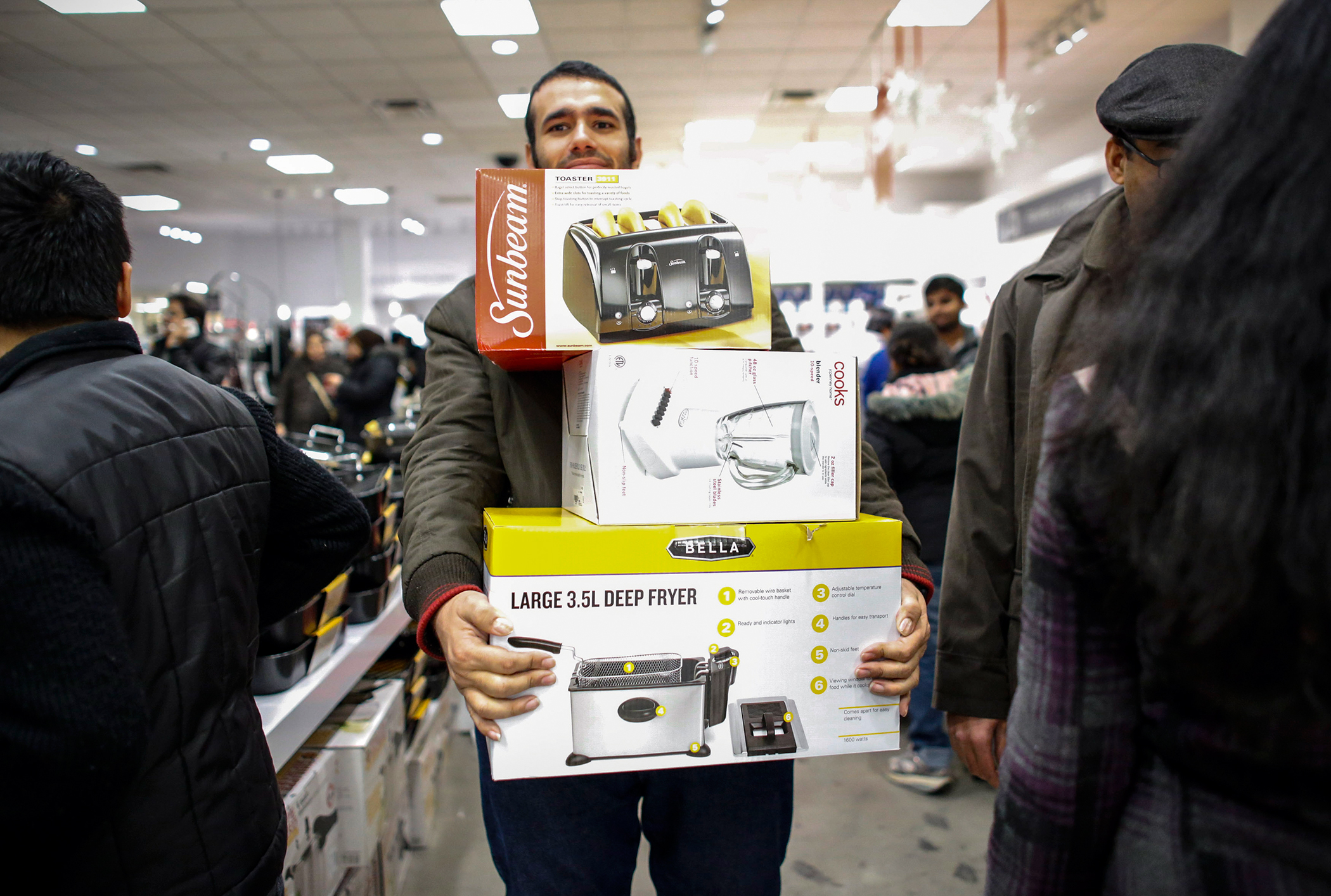 J.C. Penney has the biggest average discounts on Black Friday, according to a new study.