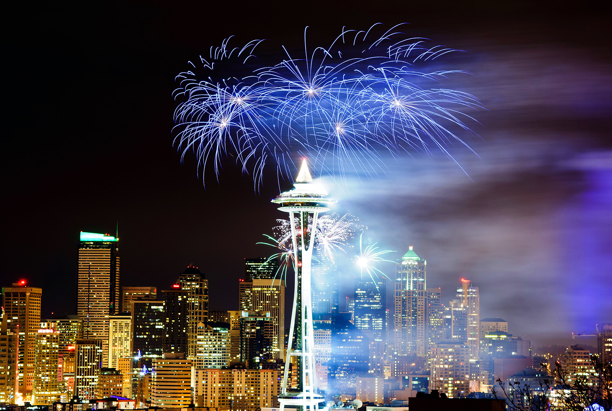 New Year's Eve in Seattle, where you can find the excitement of New York without the crowds--or the expense.