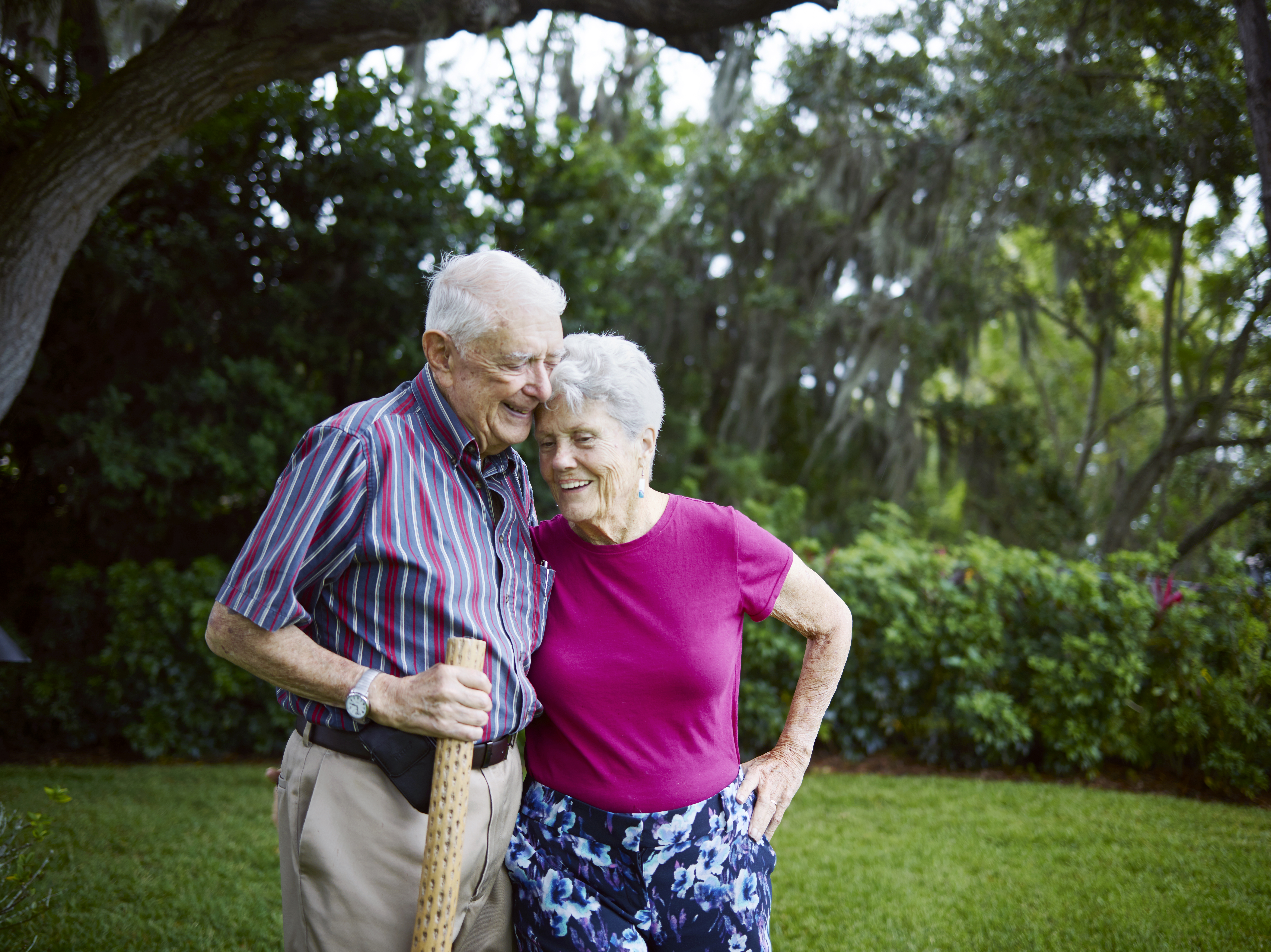 Dick Pell wants to be sure he can finance dementia care for his wife, Helen.