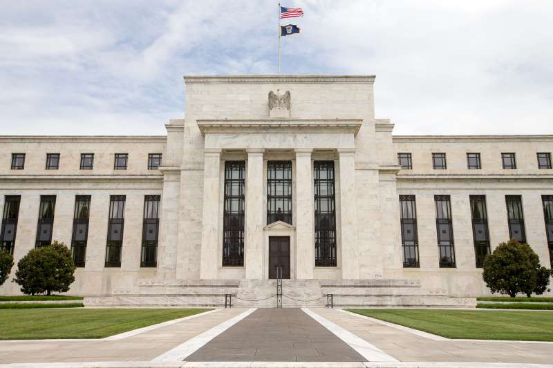 This June 19, 2015 photo shows the Marriner S. Eccles Federal Reserve Board Building, in Washington.