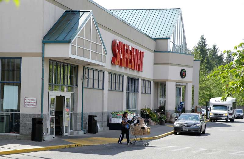 A Safeway grocery store on May 21, 2015, in Olympia, Washington