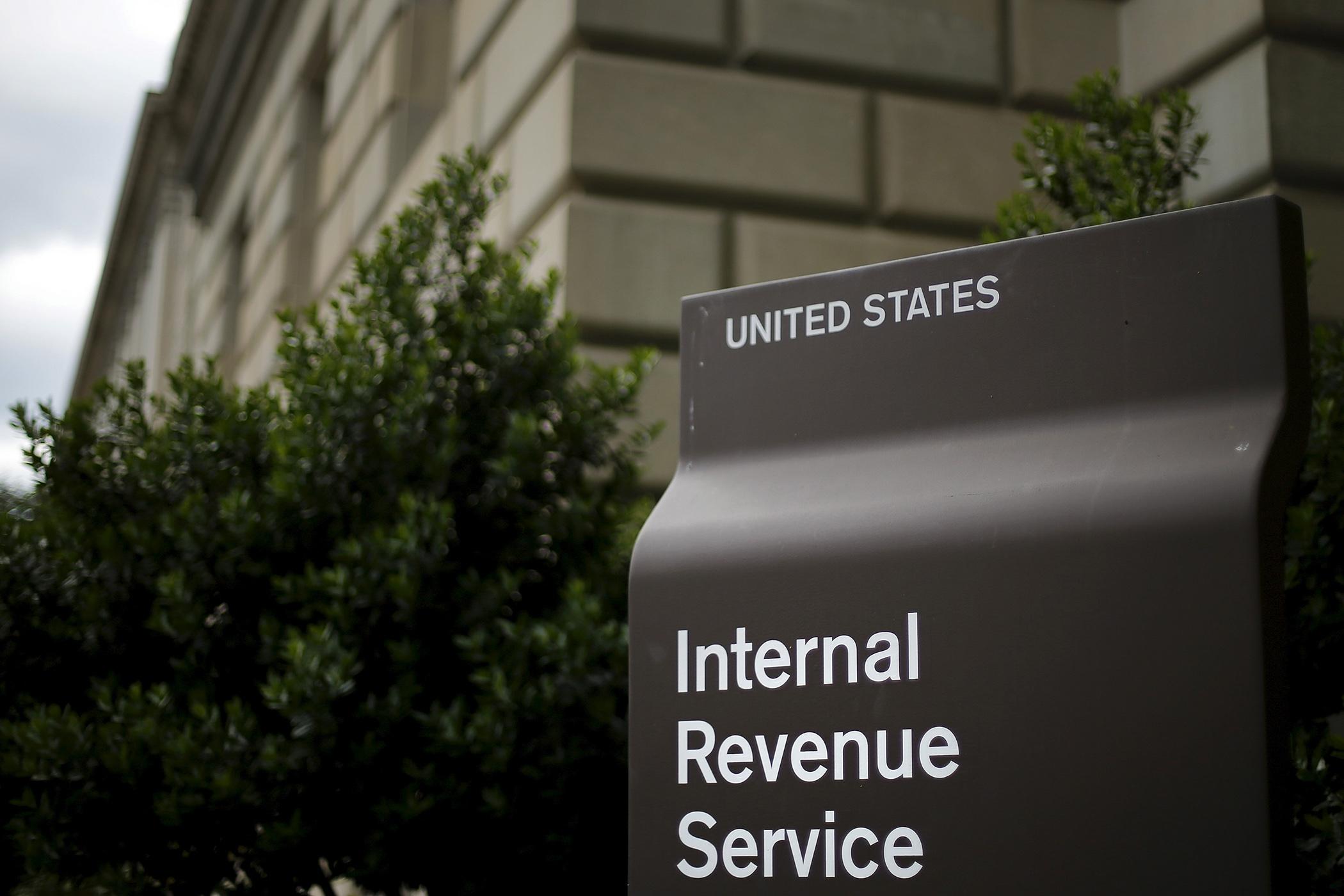 The U.S. Internal Revenue Service (IRS) building in Washington, May 27, 2015