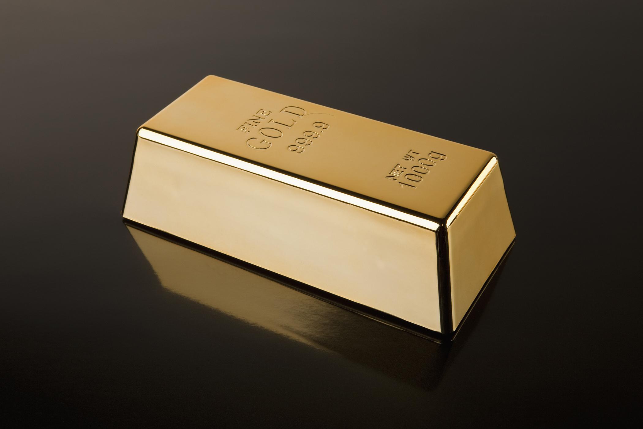A gold bar