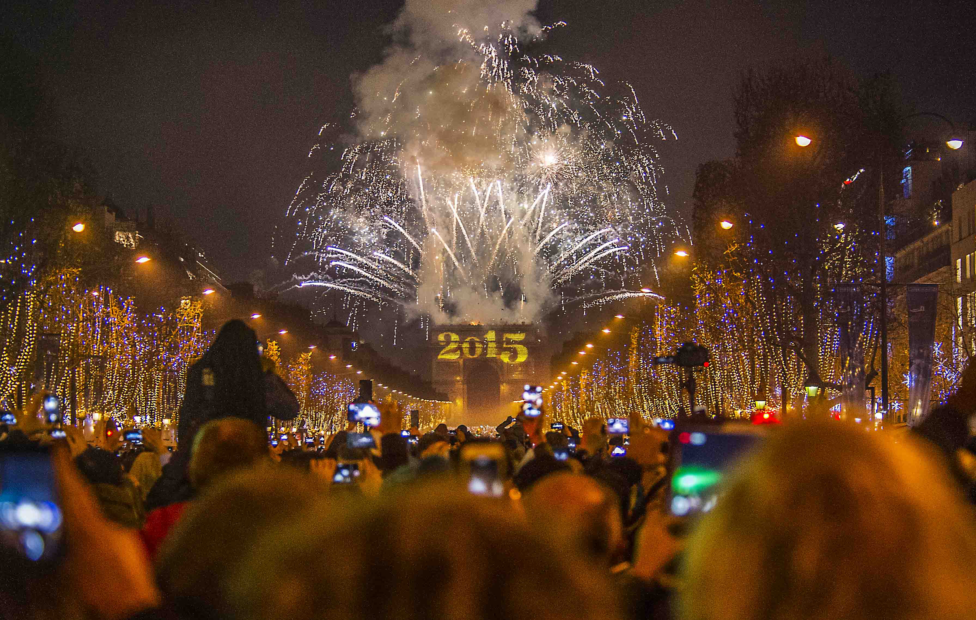 Paris on New Year's Eve