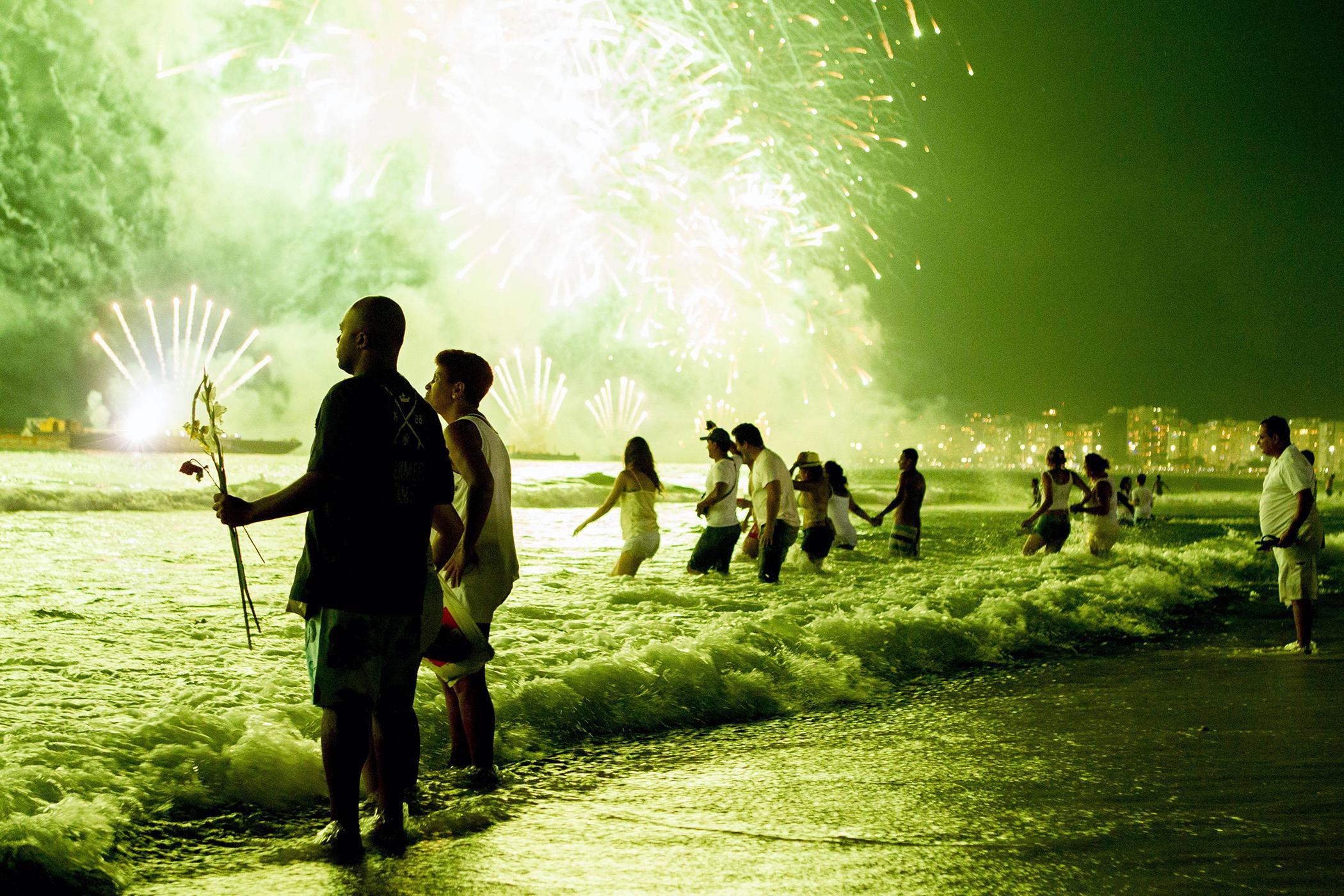 Rio de Janeiro on New Year's Eve