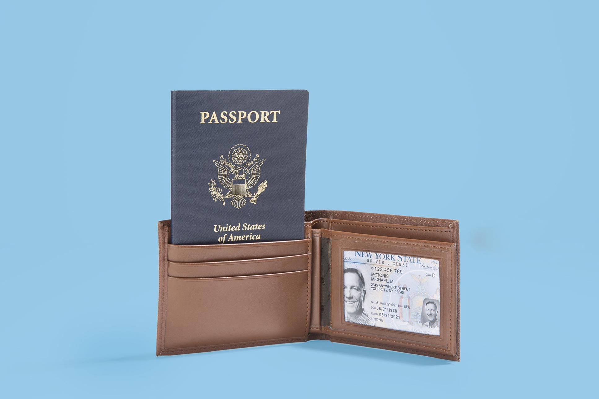 Walllet with Passport
