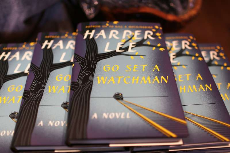 CORAL GABLES, FL - JULY 14:  The newly released book authored by Harper Lee, 'Go Set a Watchman', is seen on sale at the Books and Books store on July 14, 2015 in Coral Gables, Florida. The book went on sale today and is Lee's first book  since she released her classic, 'To Kill A Mockingbird' ,55 years ago.  (Photo by Joe Raedle/Getty Images)