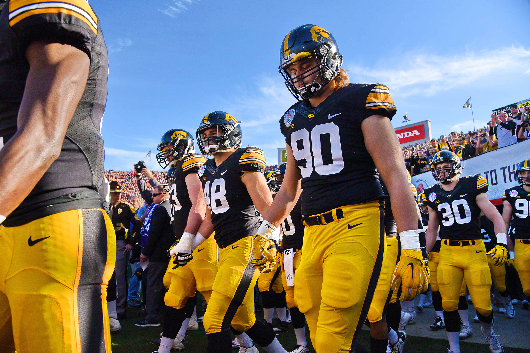 Though vanquished in this year's Rose Bowl, Iowa's Hawkeyes are among the handful of college athletic programs that actually turn a profit.