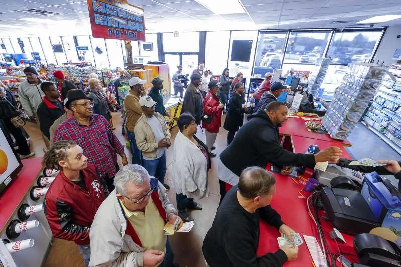 Customers purchasing Powerball tickets in Georgia this week.