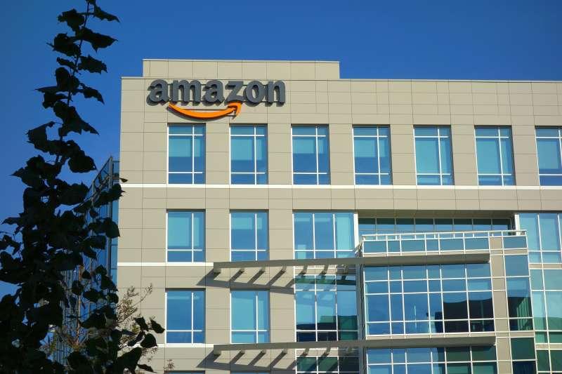 Amazon corporate office building in Sunnyvale, California, November, 8, 2014.