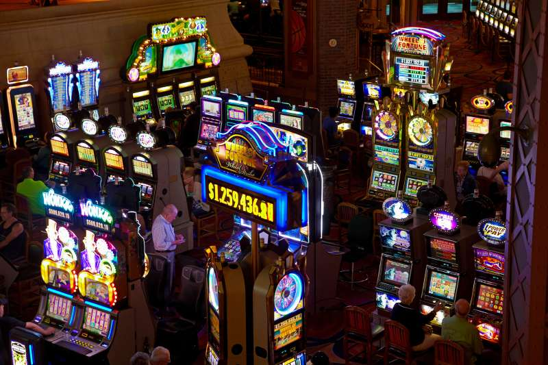 Nevada has plenty of casinos and slot machines, but no state lottery.
