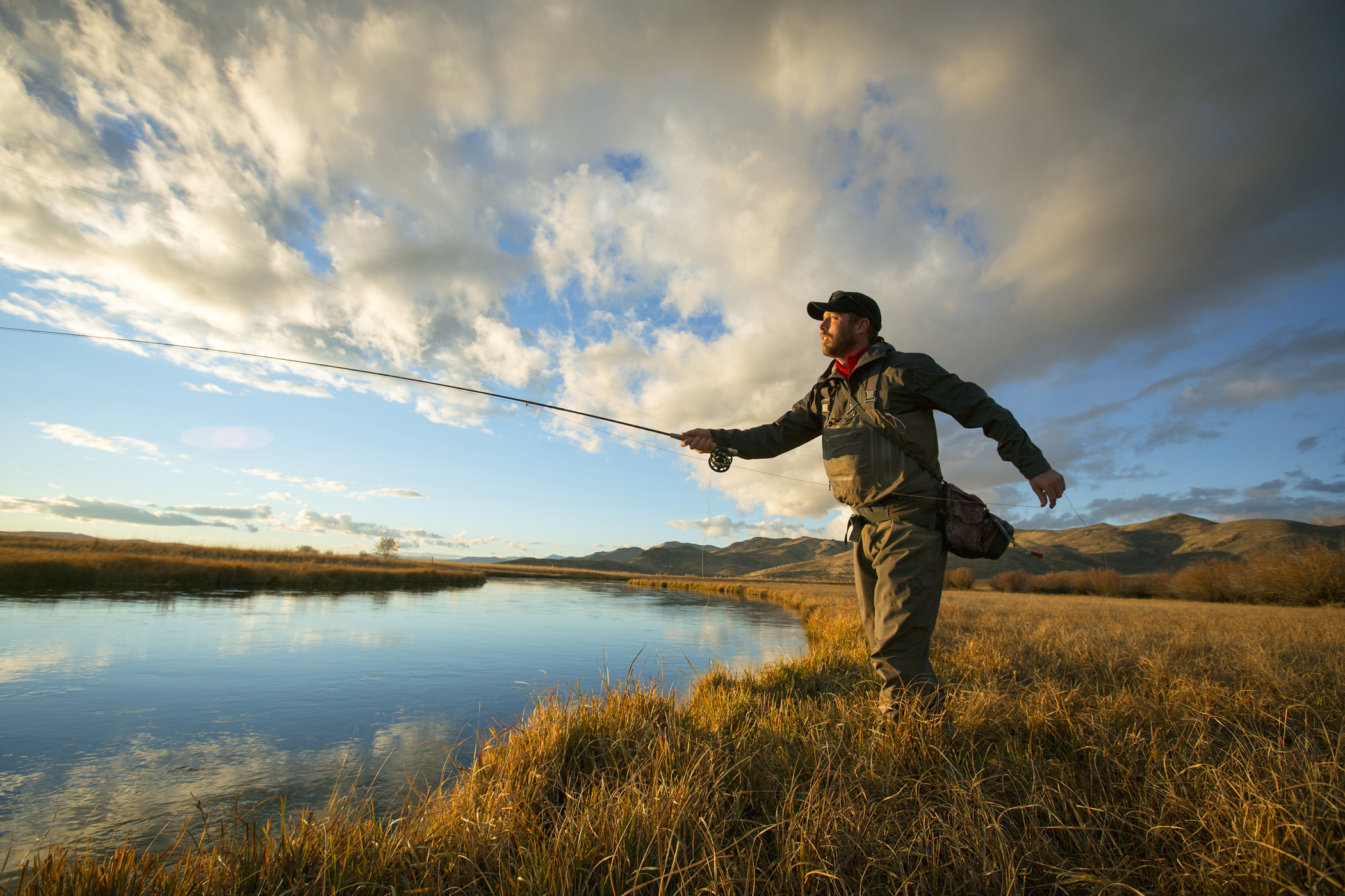 Fly-fishing in Sun Valley, the pearl of Ketchum, Idaho