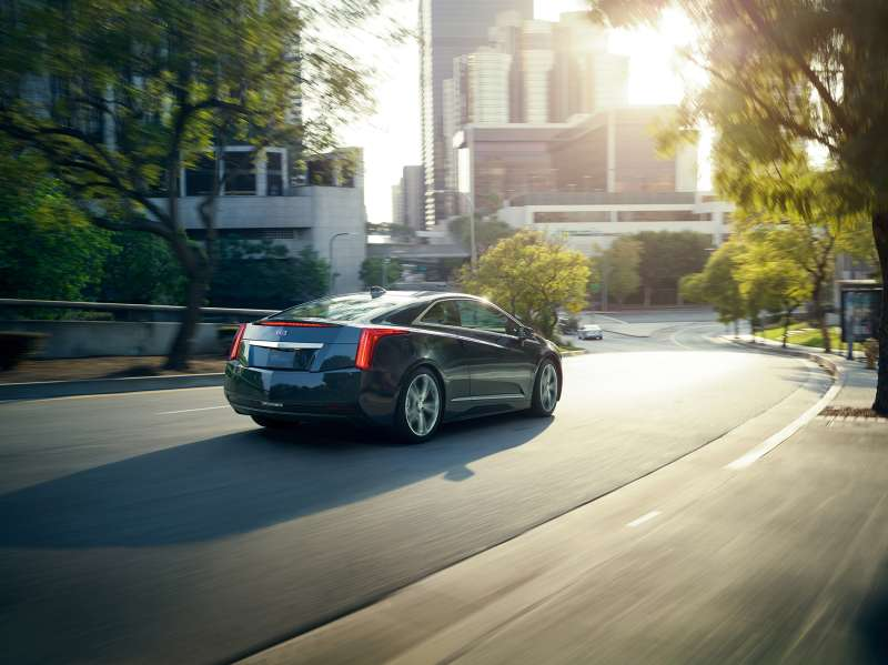 2016 Cadillac ELR electrified luxury coupe