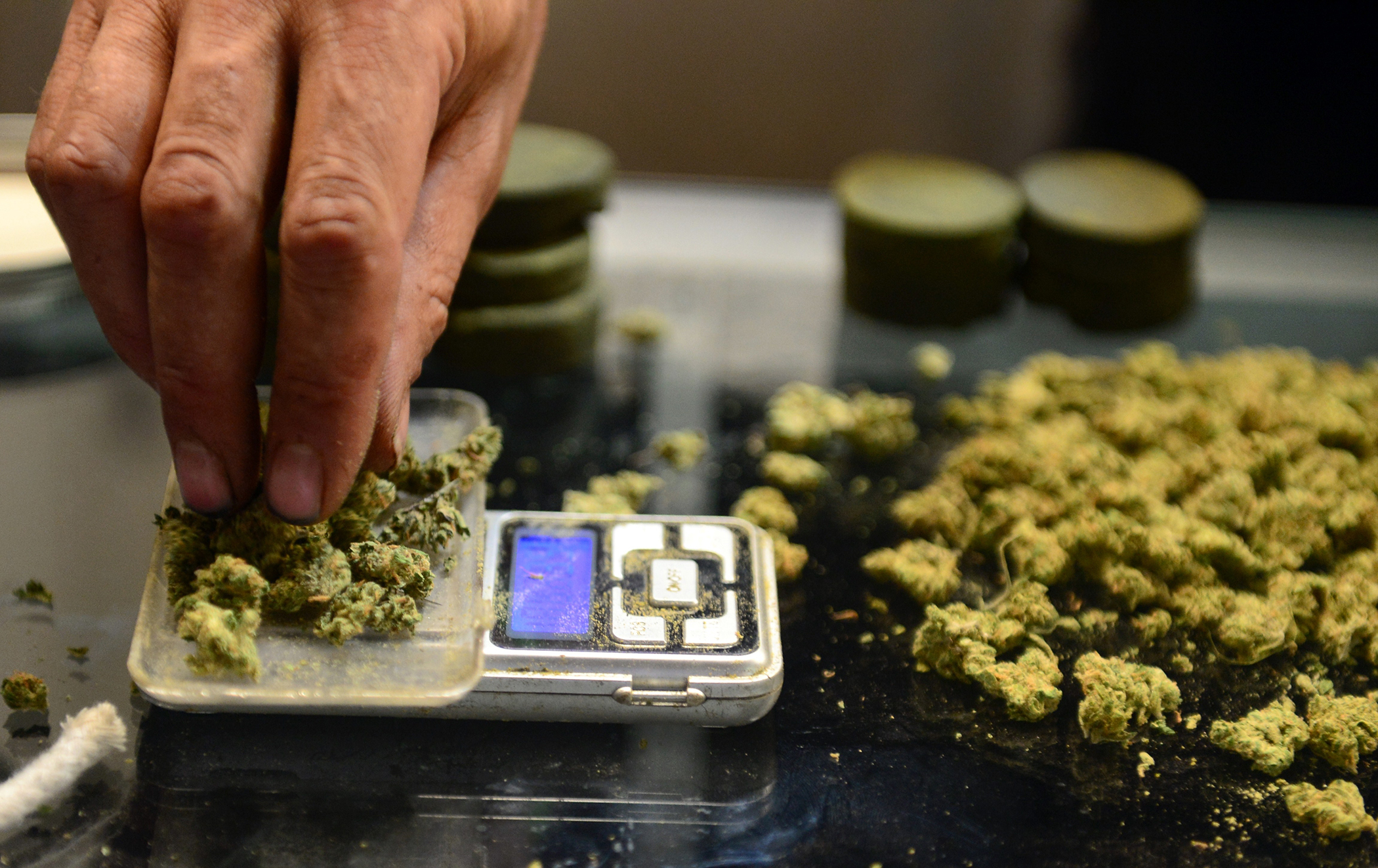Pot Dispensaries Flood California Tax Office With Cash | Money