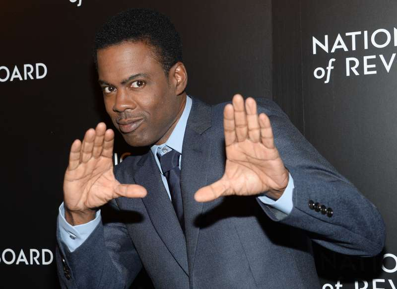 Chris Rock attends the National Board of Review awards gala at Cipriani 42nd Street on January 6, 2015, in New York.