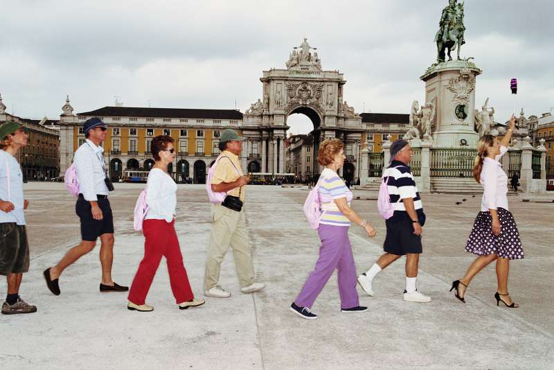 Tour guiding is one of the few career fields in which women make more than men, on average.