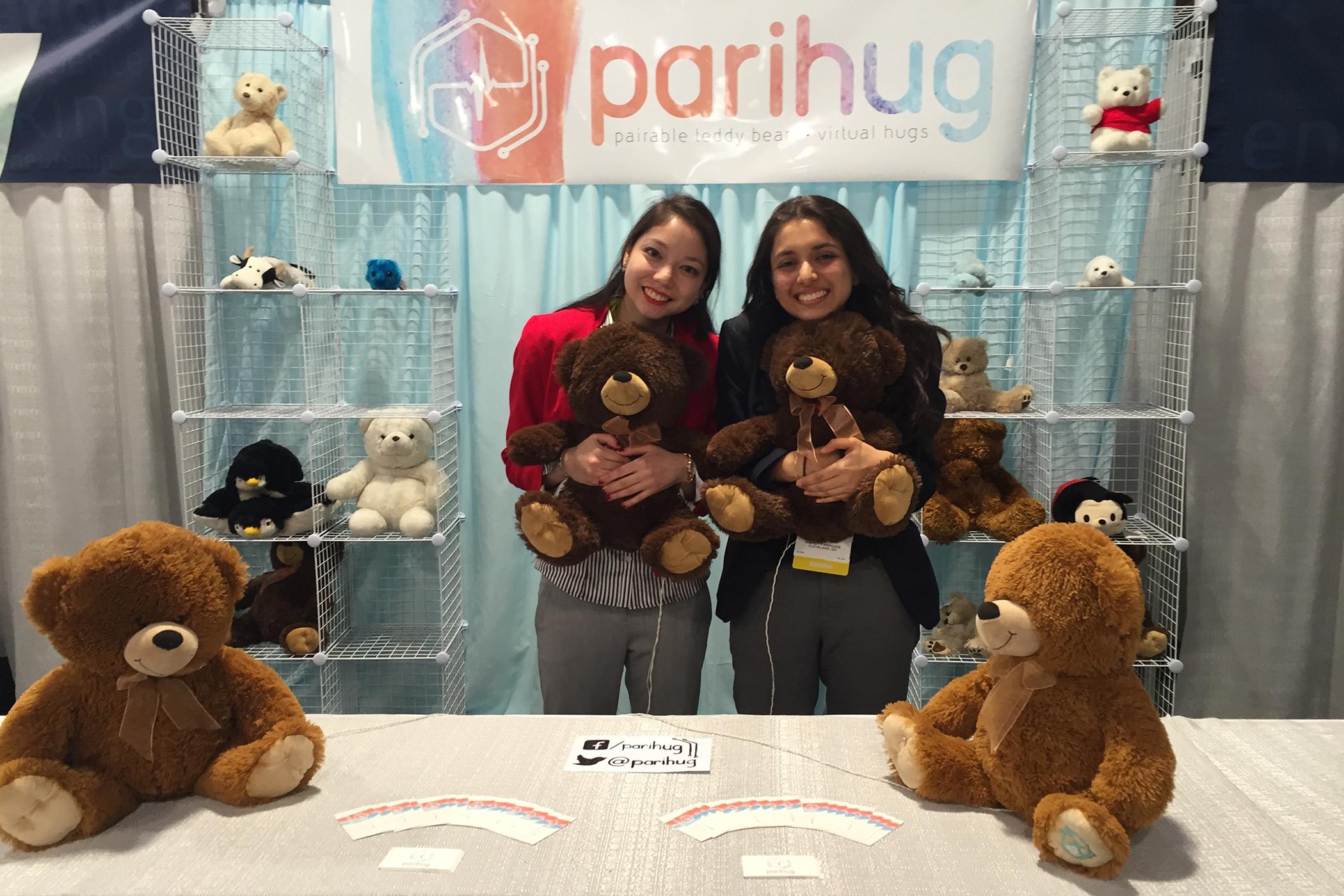 Parihug co-founders Xyla Foxlin and Harshita Gupta