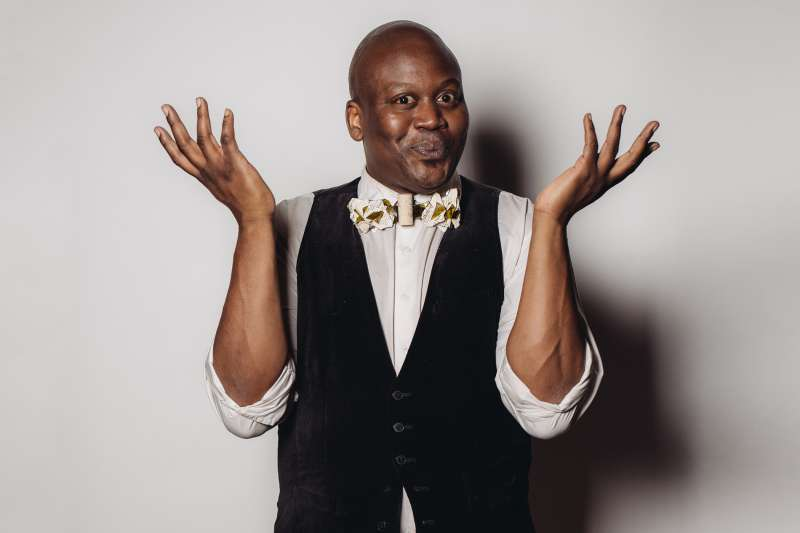 Titus Burgess poses for a portrait at the Television Academy's 67th Emmy Awards Performers Nominee Reception at the Pacific Design Center on Saturday, Sept. 19, 2015 in West Hollywood, Calif.