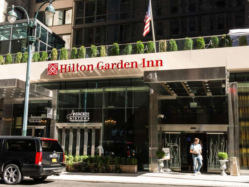 Hilton Garden Inn on East 33rd Street, NYC, 2015.