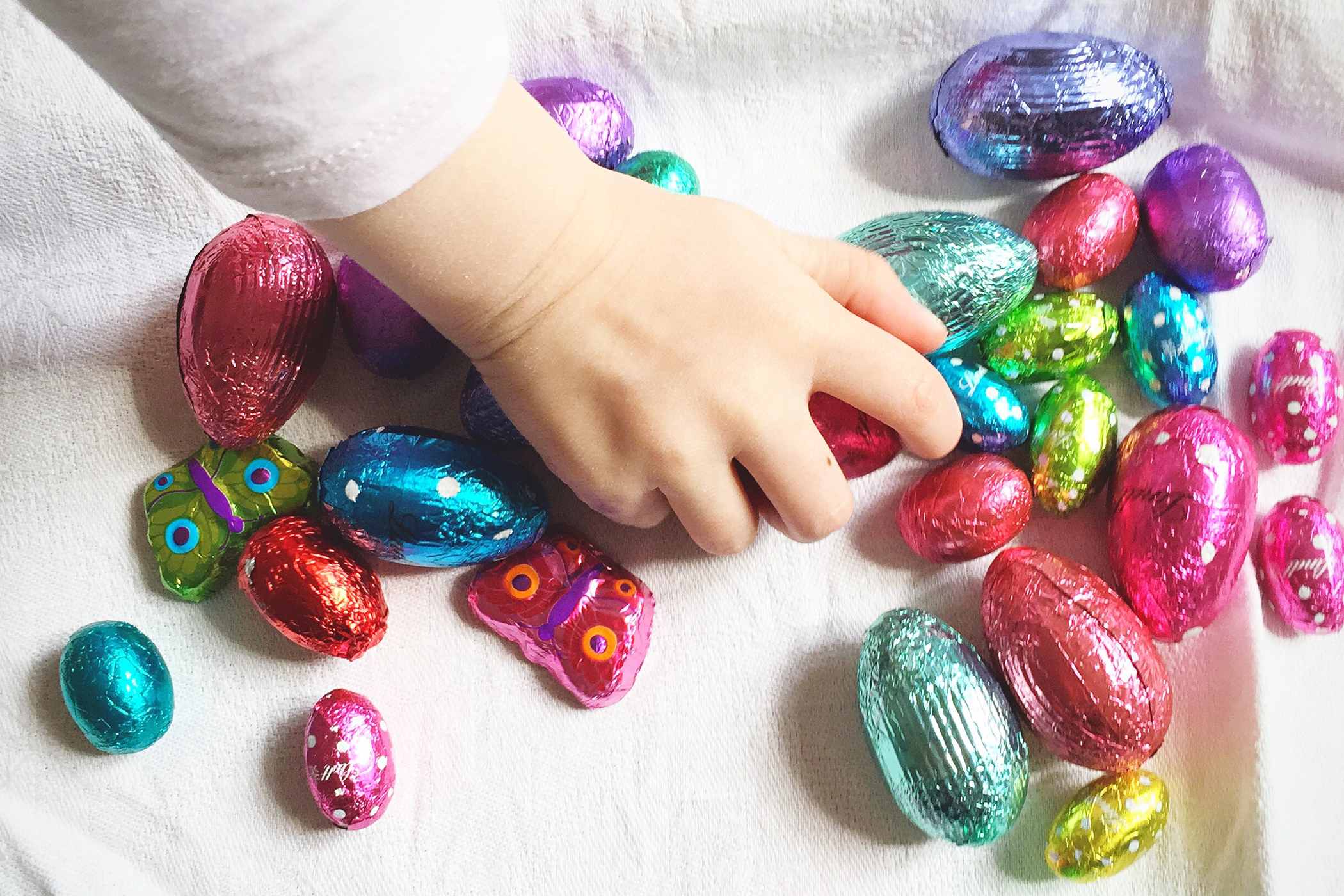 eating easter candy