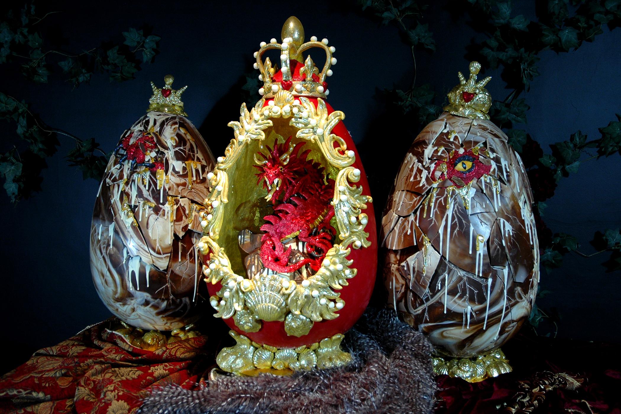 Choccywoccydoodah Fabergé-style egg