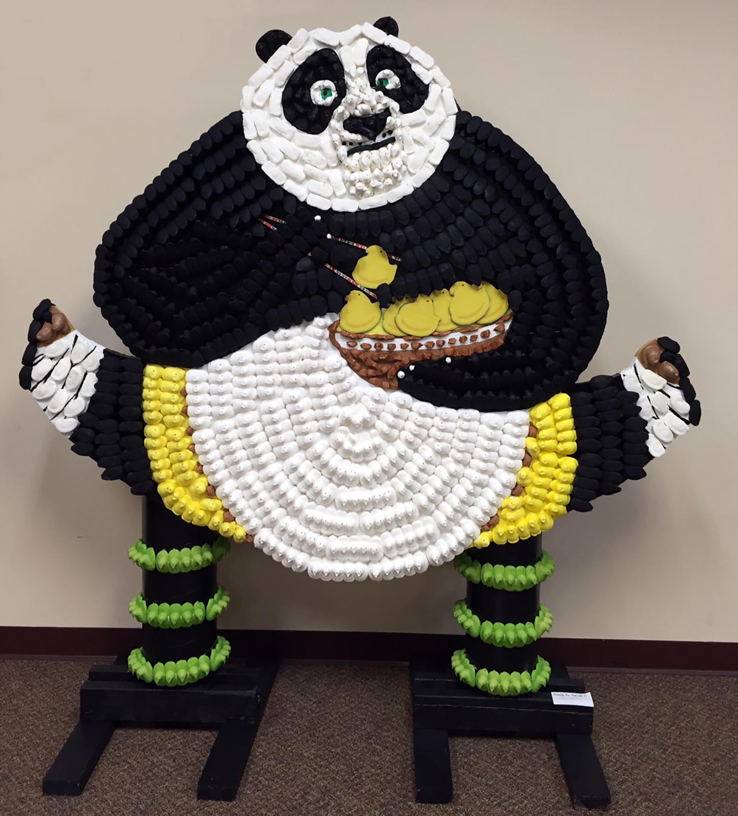 PEEPS Kong Fu Panda Split at Carroll County PEEPS Show