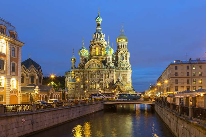 Russia, Saint Petersburg, Church of the Saviour