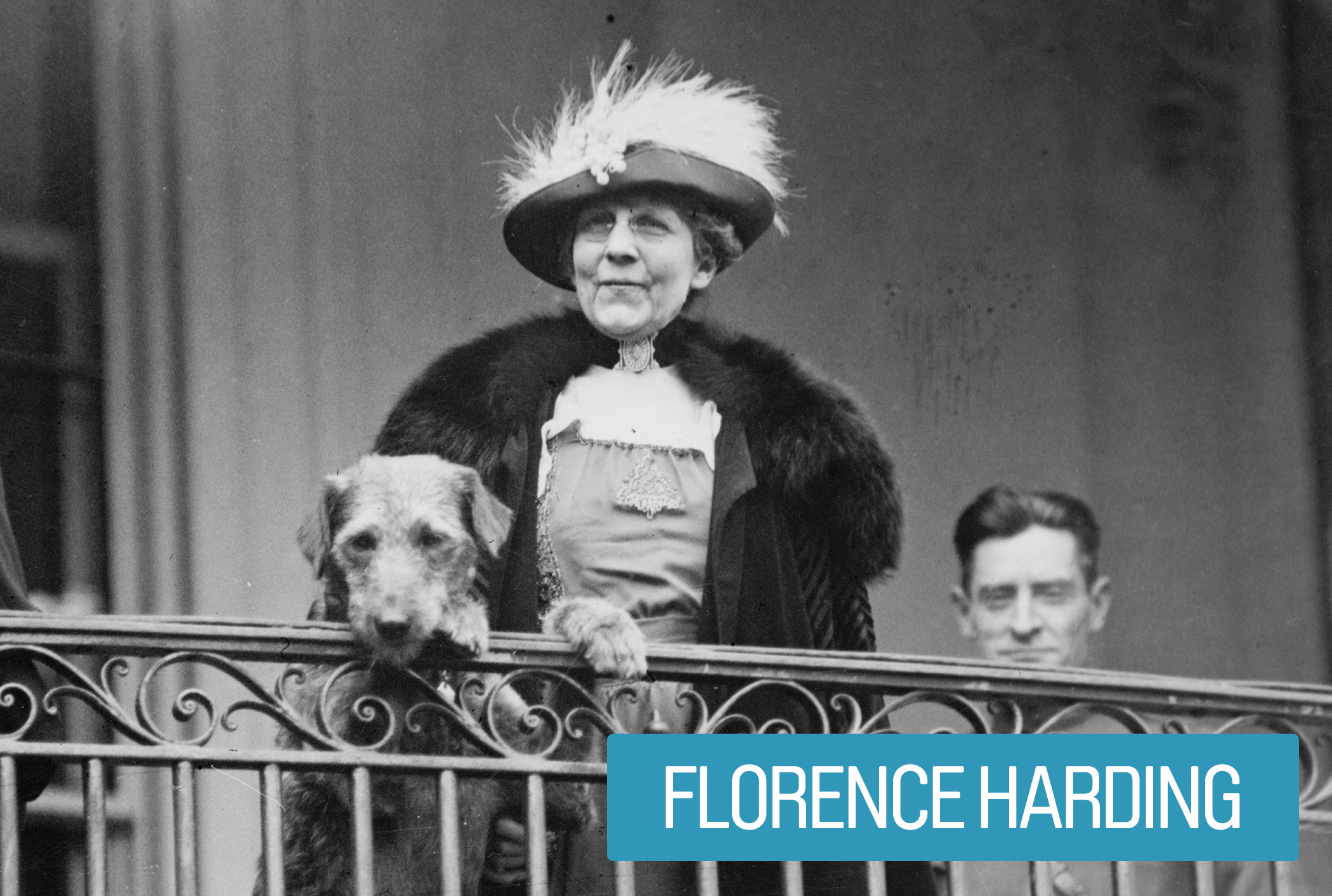 Florence Harding was an advocate for women's equality, acting as a role model  and often pushing for female political appointments. She was a radical supporter of the ASPCA and encouraged the humane treatment of animals. She also routinely visited veteran hospital wards to ensure patients received quality care and proper benefits.