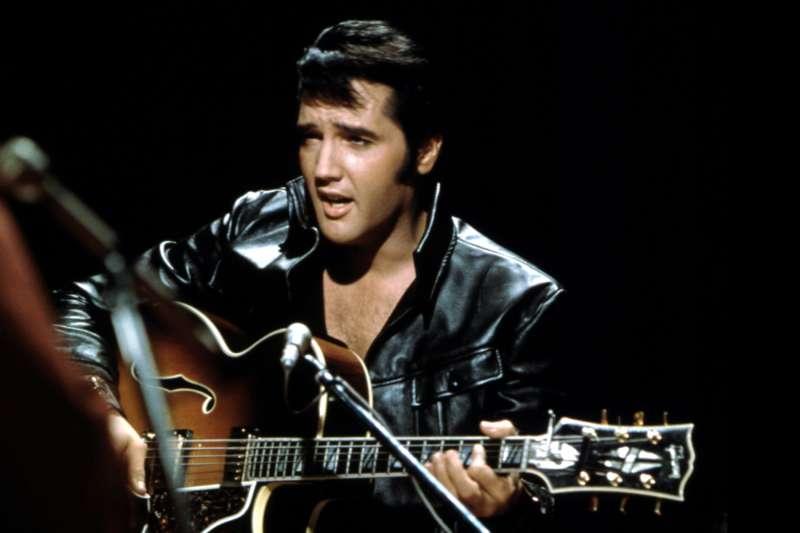 Elvis Presley, circa 1970