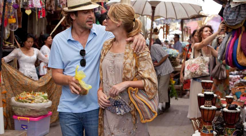 Julia Roberts, playing Elizabeth Gilbert in  Eat Pray Love,  didn't spend much time worrying about her taxes.