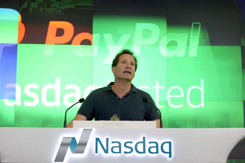 PayPal President and CEO Dan Schulman.