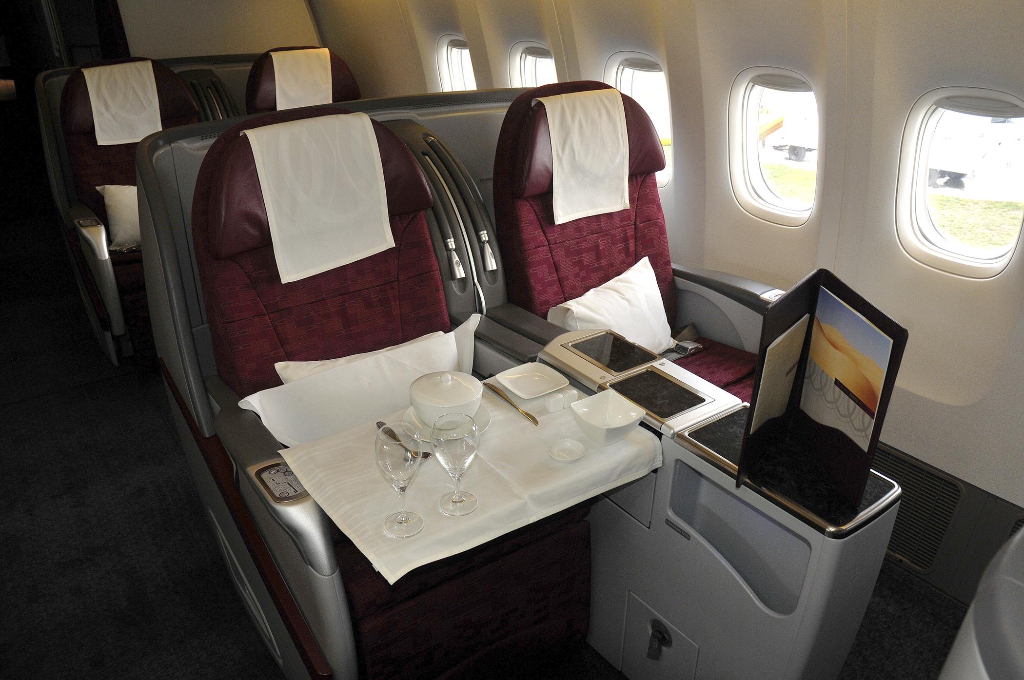 Air Rage Rises When Coach Passengers Walk Thru First Class Money