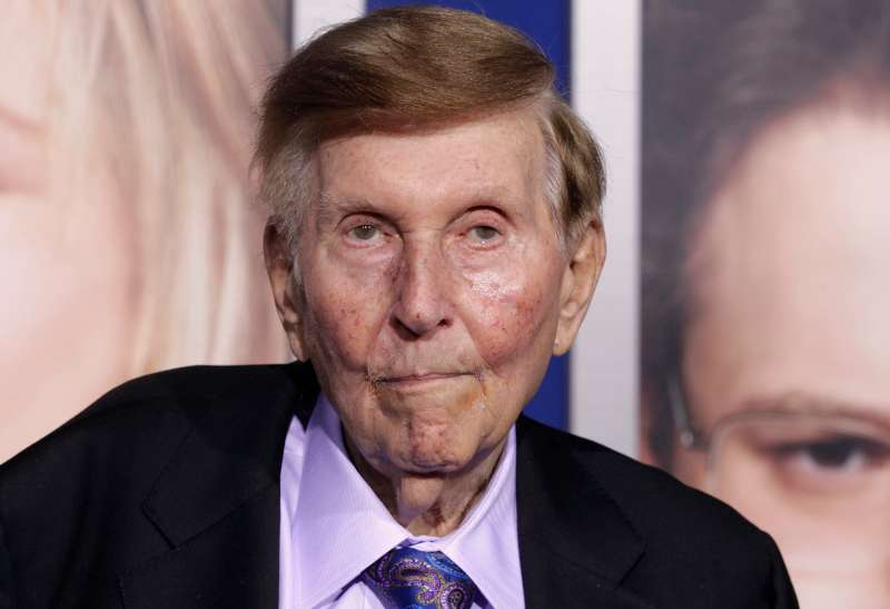 Sumner Redstone,  chairman emeritus of CBS and Viacom