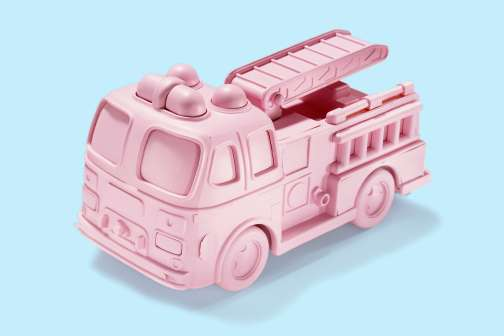 Just Making a Toy Pink Raises Its Price Tag