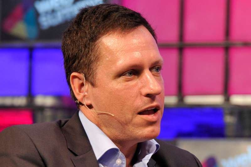 Peter Thiel, co-founder of Paypal.