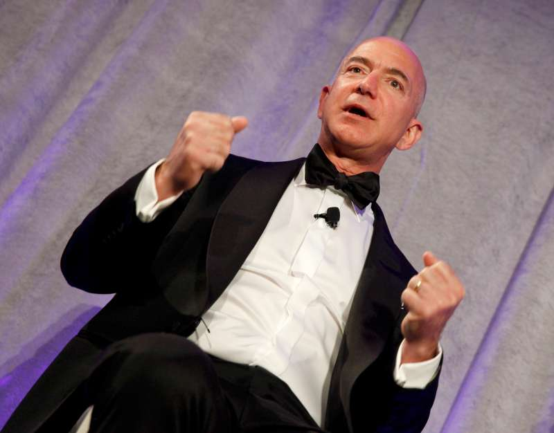 Amazon CEO Jeff Bezos made his largest stock sale ever this week.