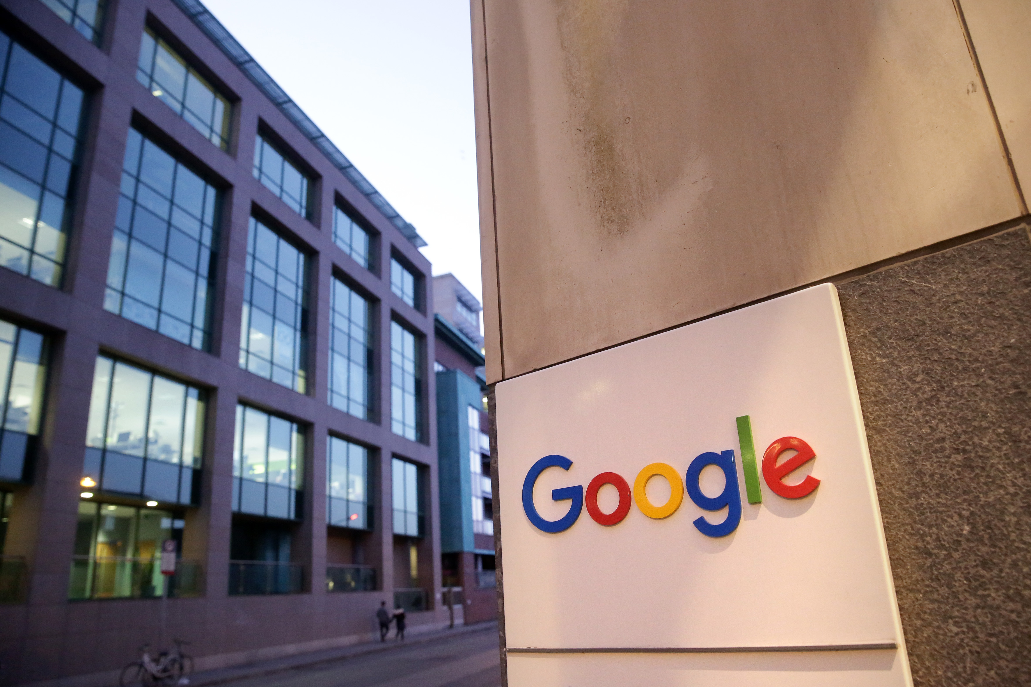 Google surpassed Apple to become the largest company in the world by market capitalization.