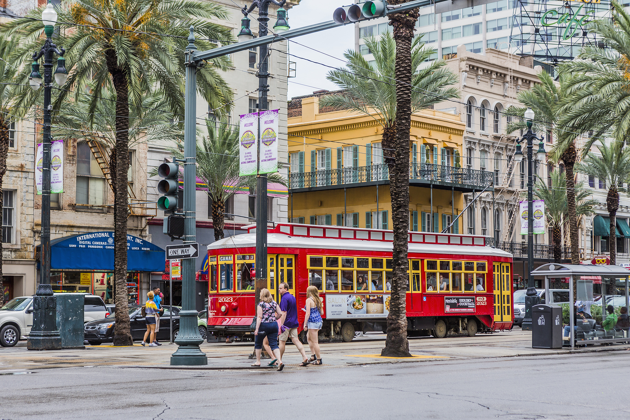 Canal Street streetcar, New Orleans