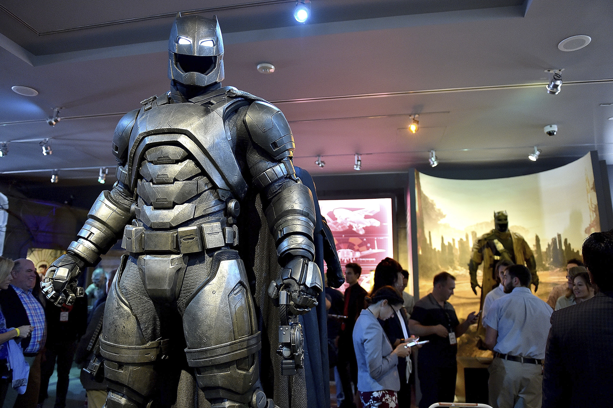 A general view of the atmosphere during Warner Bros. Studio Tour Hollywood launches DC Universe: The Exhibit - featuring the greatest Super Heroes and Super-Villains on May 18, 2016 in Hollywood, California.