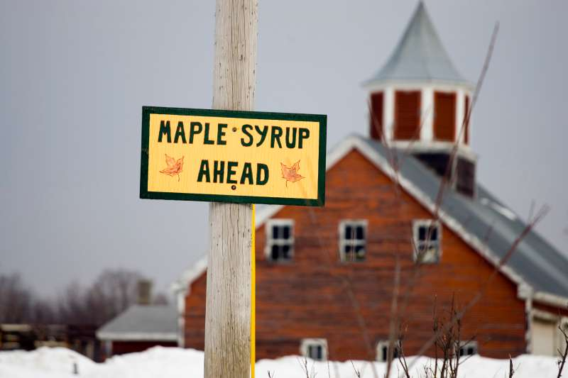 Maple syrup production has reached an all-time high this year.