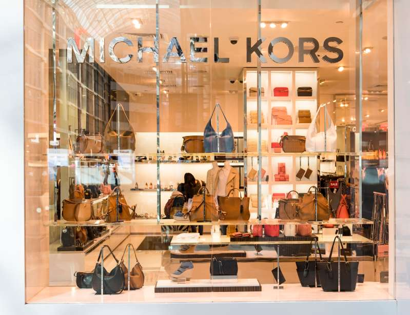MIchael Kors store in Eaton Center. The brand is an American luxury fashion known for handbags and accessories.