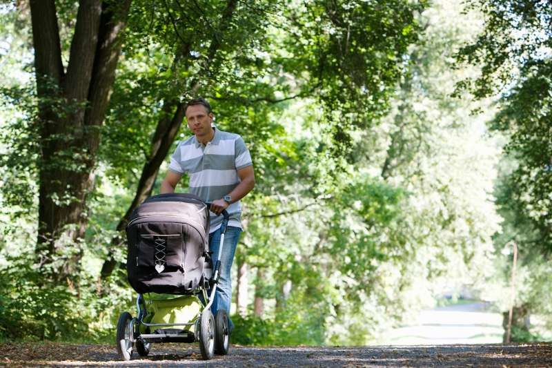 A new survey finds that men think their jobs will suffer if they take paternity leave.